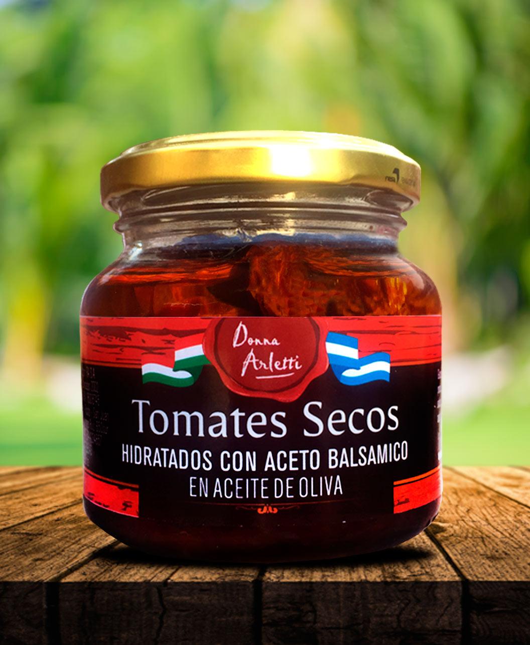 Tomates Secos Hidratados en Aceto Balsámico