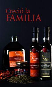 Famila de productos de Donna Arletti